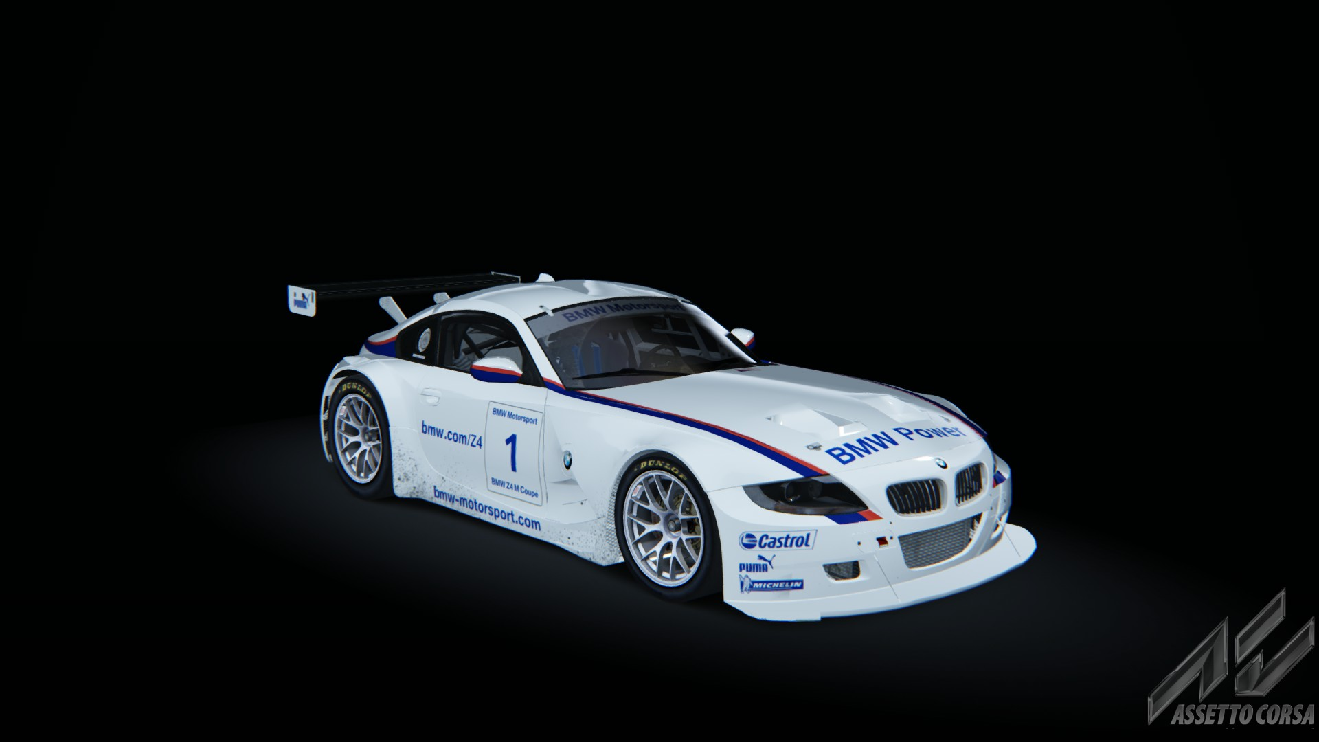 Bmw Z4 M Coupe Gt3 Bmw Car Detail Assetto Corsa Database
