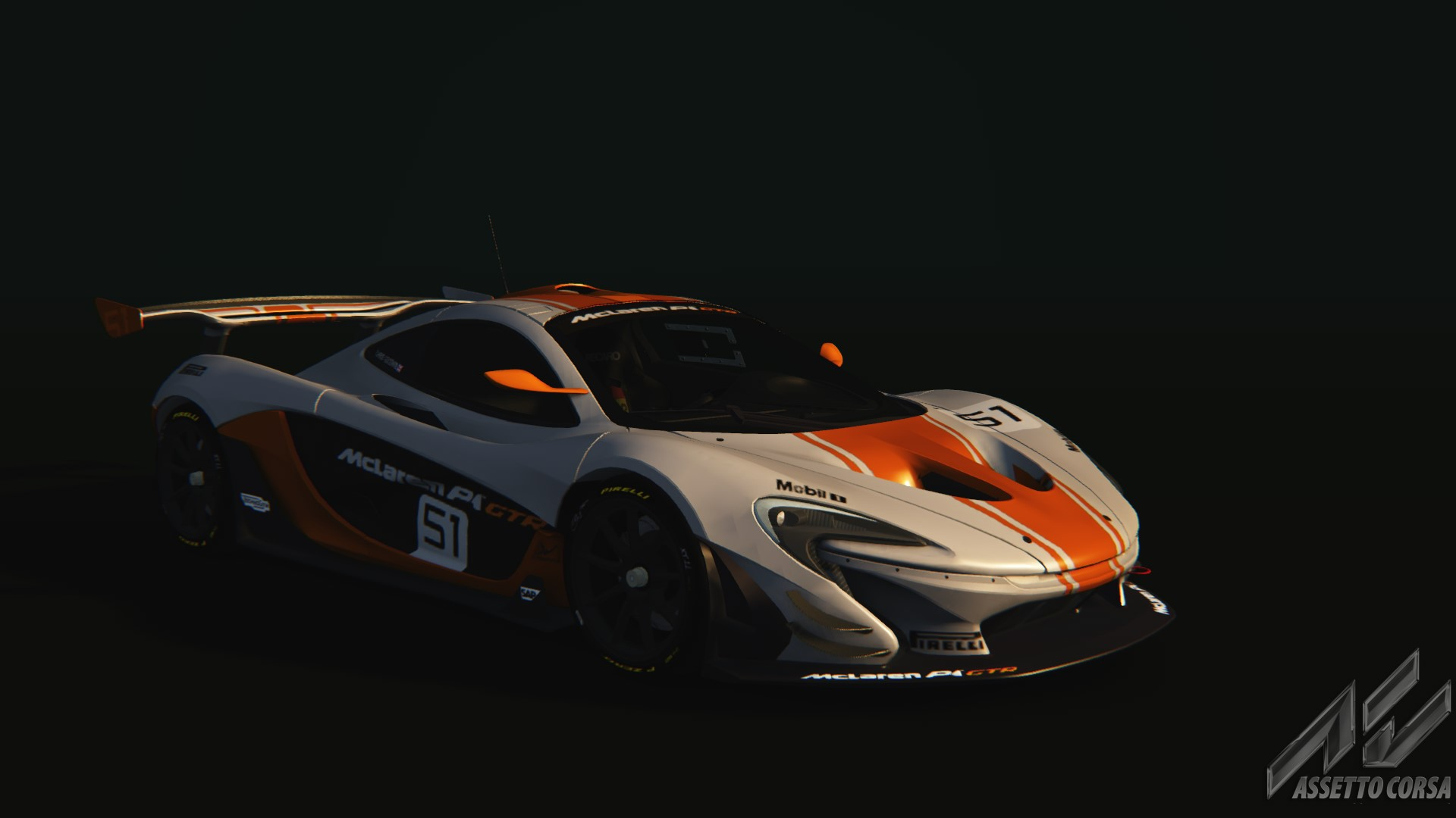 McLaren P1 GTR - McLaren - Car Detail - Assetto Corsa Database