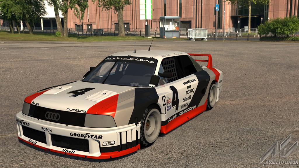 Audi 90 GTO - Audi - Car Detail - Assetto Corsa Database