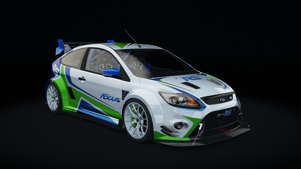 Ford Focus Rs Mk2 Time Attack Ford Car Detail Assetto Corsa