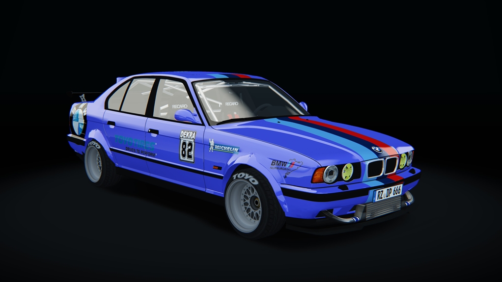 Bmw M5 E34 Race Bmw Car Detail Assetto Corsa Database