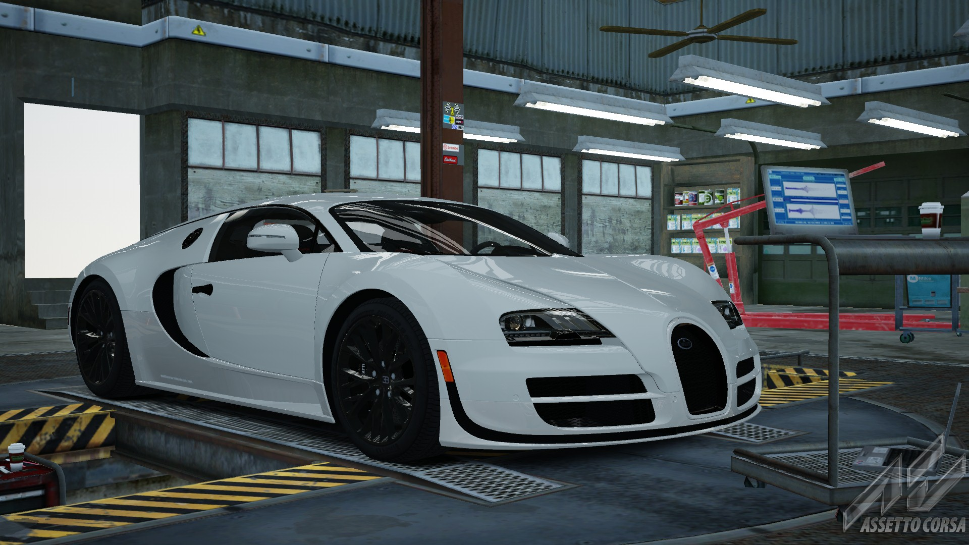 Bugatti Veyron Super Sport - Bugatti - Car Detail - Assetto Corsa ...
