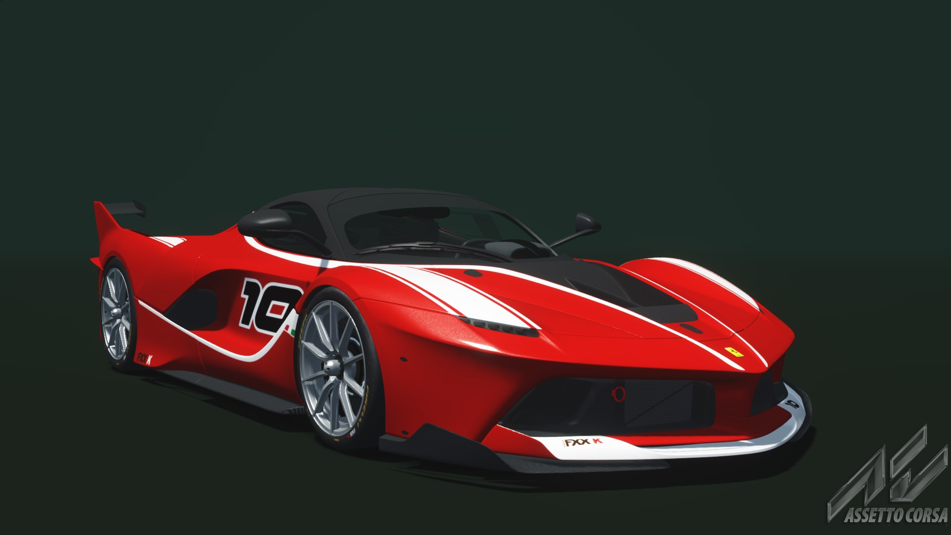 ferrari fxx k - ferrari - car detail - assetto corsa database