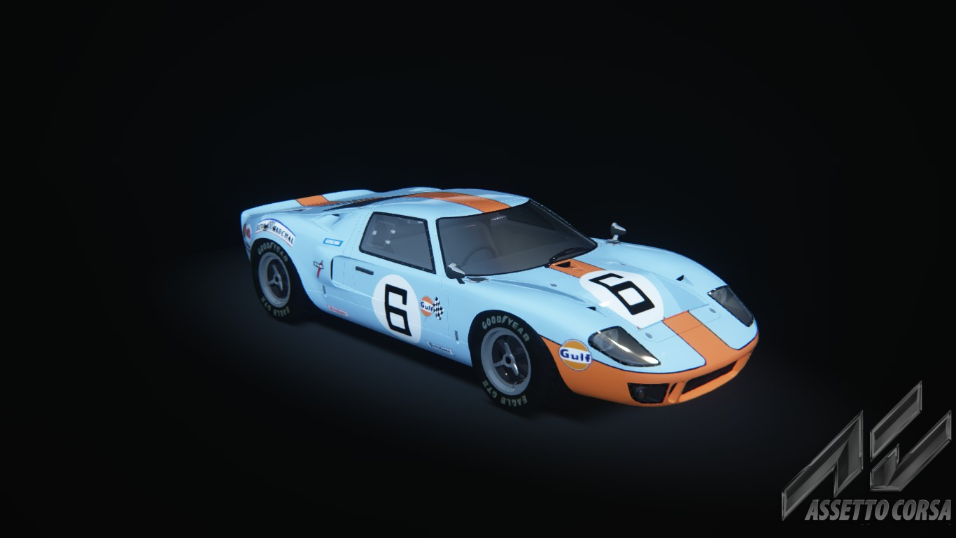 Ford Gt 40 >> Ford GT40 mk1 - Ford - Car Detail - Assetto Corsa Database