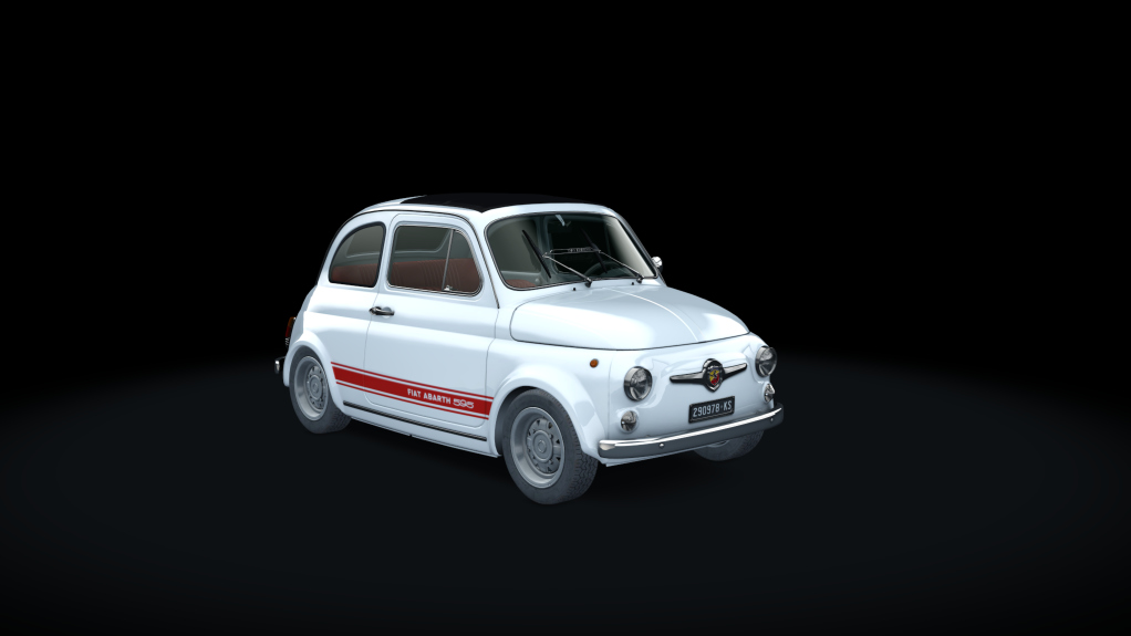 abarth 595 ss abarth car detail assetto corsa database. Black Bedroom Furniture Sets. Home Design Ideas