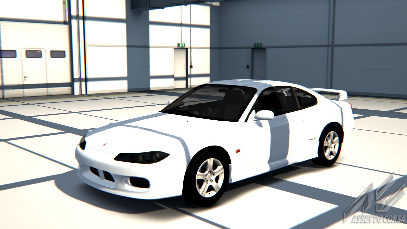 Nissan S15 Vh45 Car Detail Assetto Corsa Database Silvia Mona Lisa White