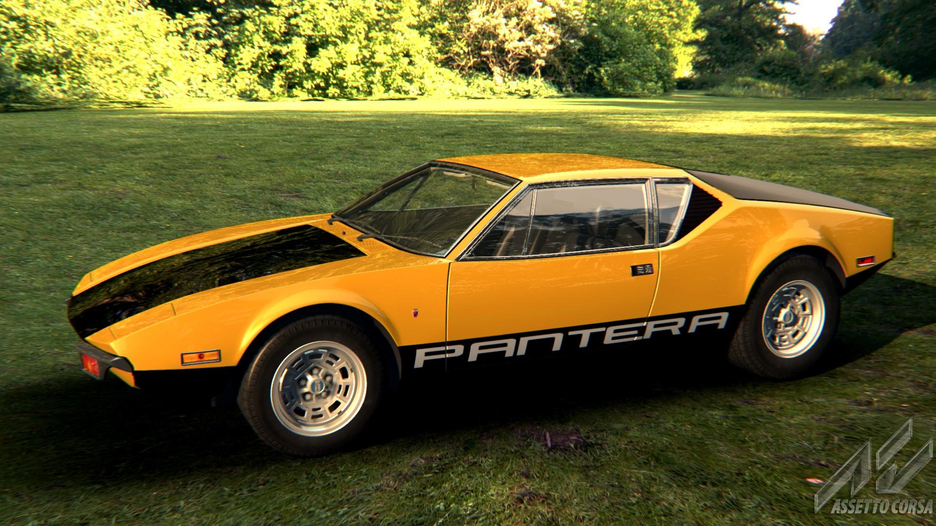 Muscle Cars List >> DeTomaso - Pantera - Car Detail - Assetto Corsa Database