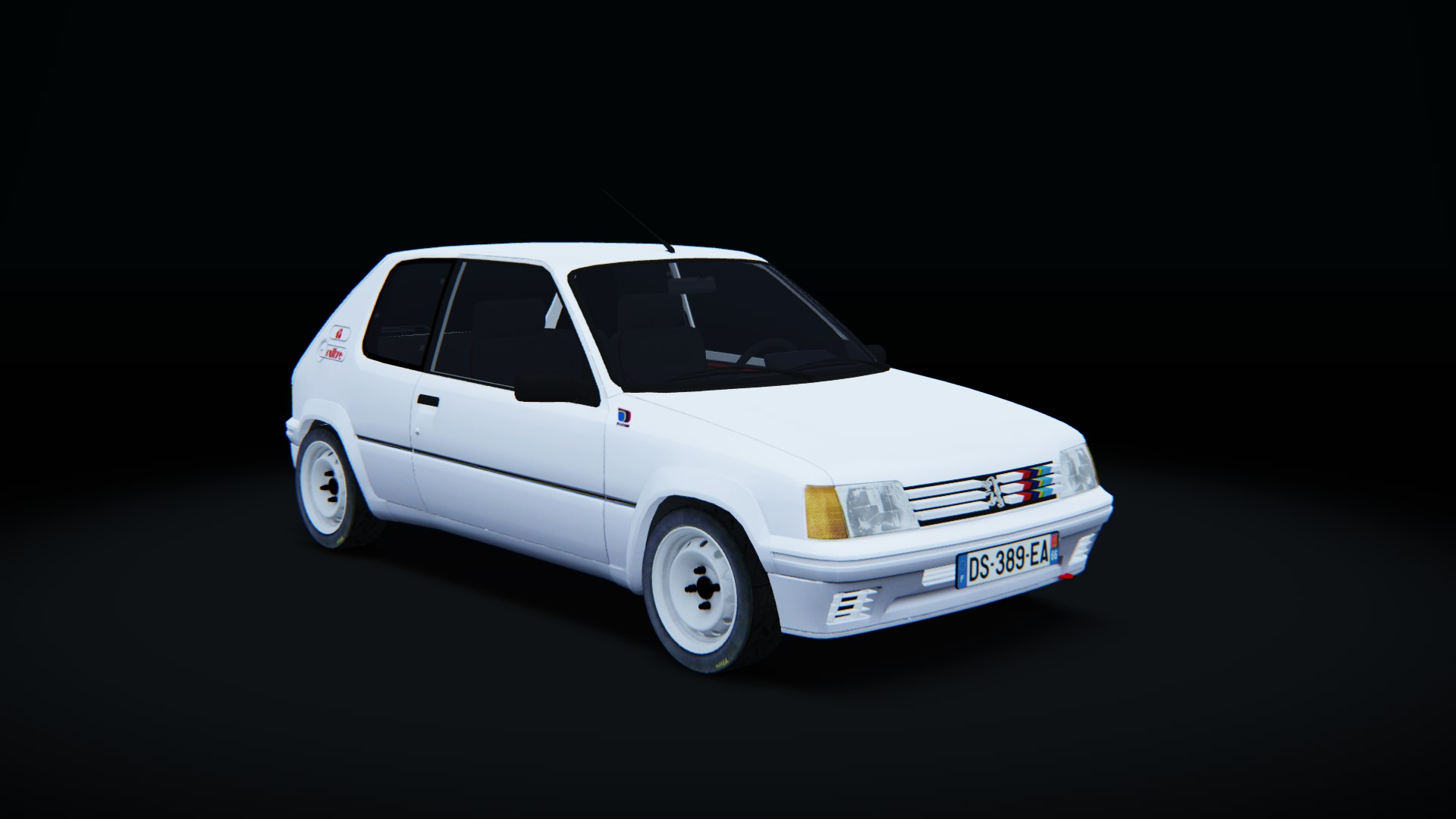 peugeot 205 rallye step1 peugeot car detail assetto corsa database. Black Bedroom Furniture Sets. Home Design Ideas
