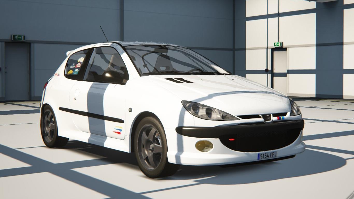 Peugeot 206RC - Peugeot - Car Detail - Assetto Corsa Database