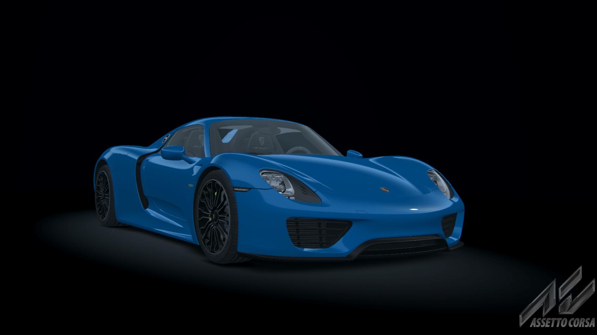 918 Spyder Porsche Car Detail Assetto Corsa Database