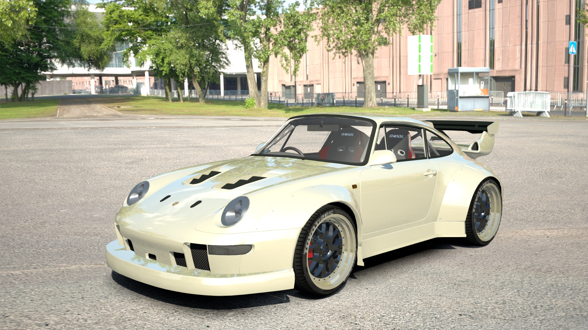porsche 911 carrera rwb porsche car detail assetto. Black Bedroom Furniture Sets. Home Design Ideas