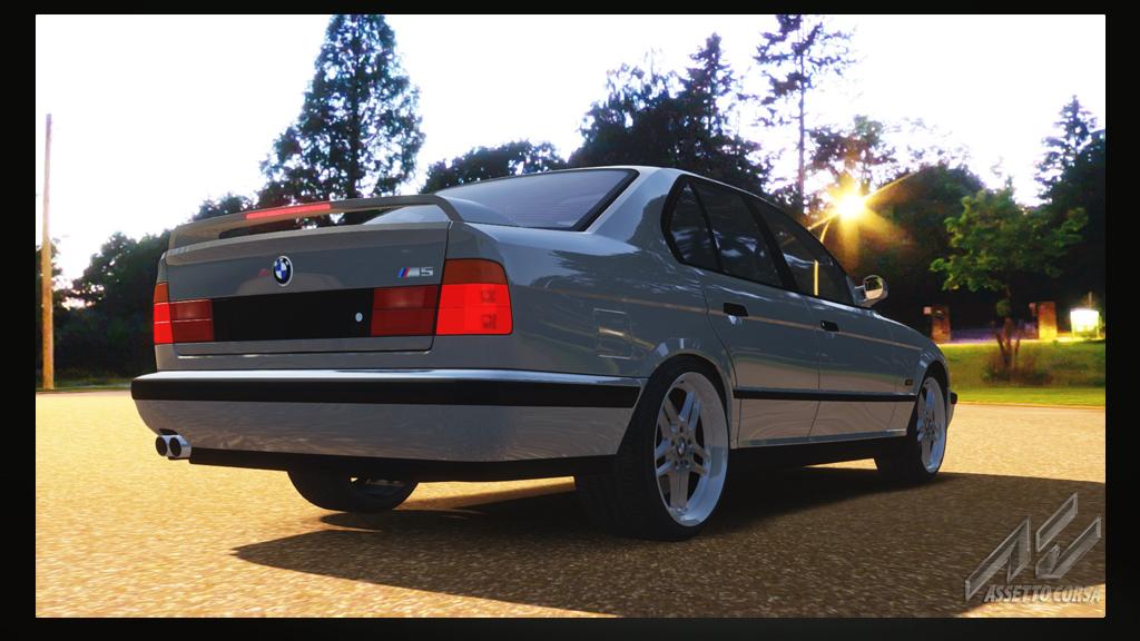 Prs Bmw M5 E34 Turbo Drift Bmw Car Download Assetto