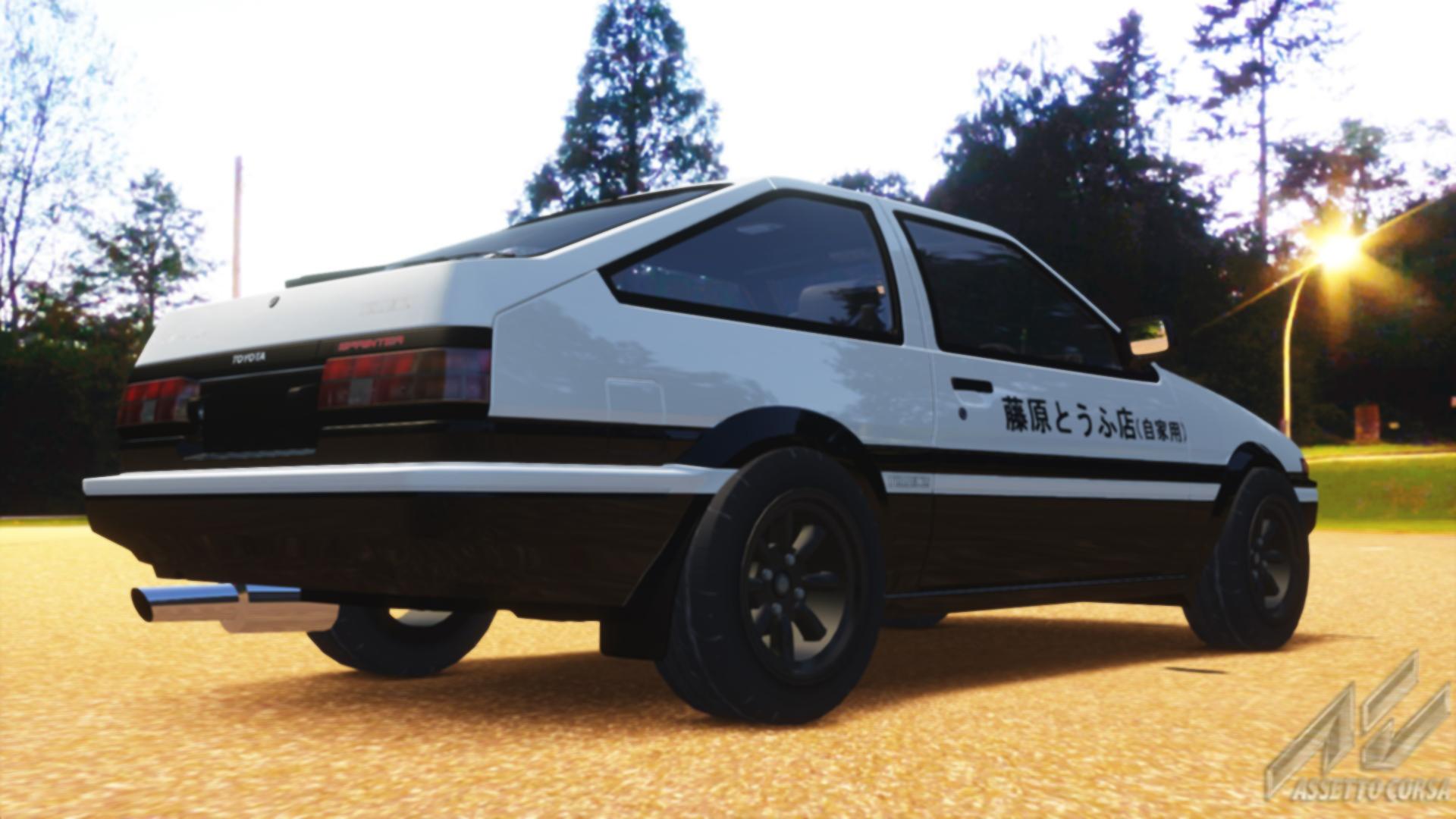 Prs Toyota Trueno Sprinter Ae86 Initiald Toyota Car