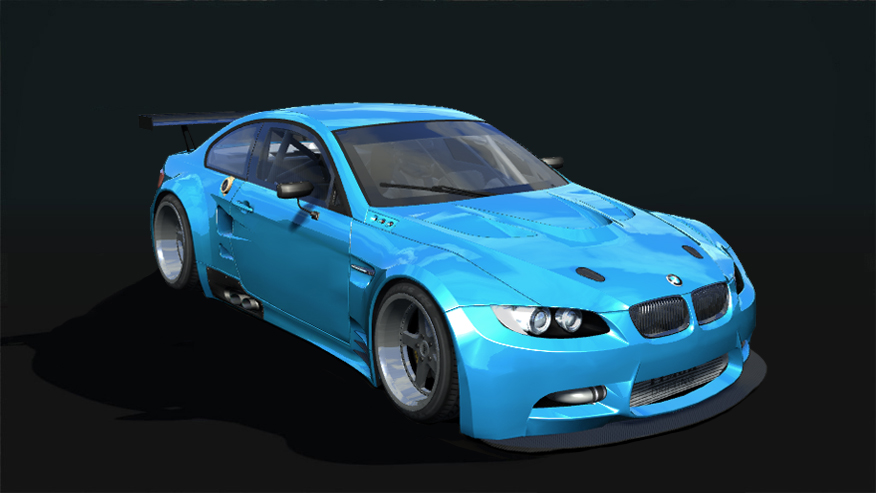 T1MOK BMW E92 GT2 - BMW - Car Detail - Assetto Corsa Database