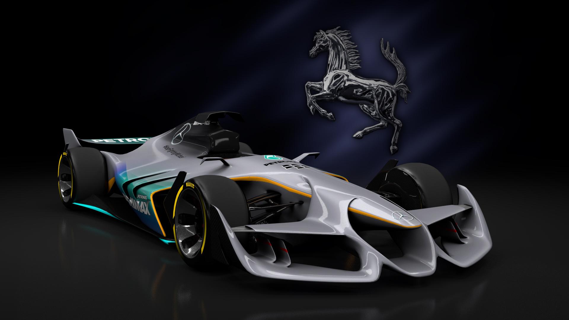 Ferrari F1 Concept Formula Car Detail Assetto Corsa