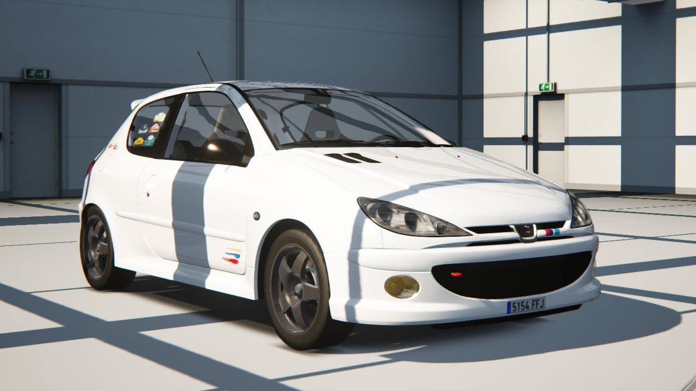 Peugeot 206rc Peugeot Car Detail Assetto Corsa Database